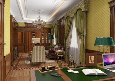 Ремонт под ключ в аппартаментках на Тверской
